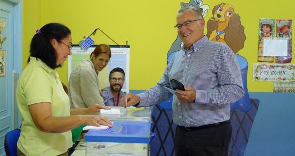As votacións dos candidatos á alcaldía do Barco