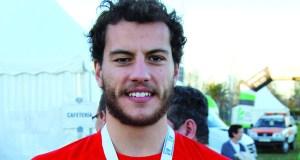 O valdeorrés Carlos Revuelta, subcampión de España Universitario