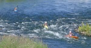 Campionato de España de Descenso de augas bravas, no Sil