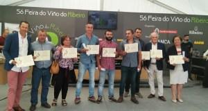 Entrega de premios da Cata Popular da 56ª Feira do Viño do Ribeiro