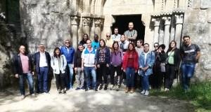 Viaxe cultural a Parada de Sil dun grupo de internos do Centro Penitenciario de Pereiro