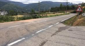 Volve a estar aberta ao tráfico a OU-622 en Vilanova (O Barco)