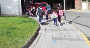 """Semana de proba nos """"Camiños Escolares"""" do Barco"""