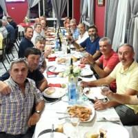 A II Xuntanza das vellas glorias do C.D. Vilamartín concluía cunha cea