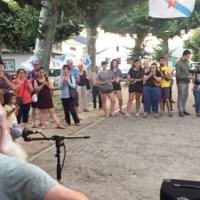 Mini pon voz e música á III Festa da Patria na Rúa