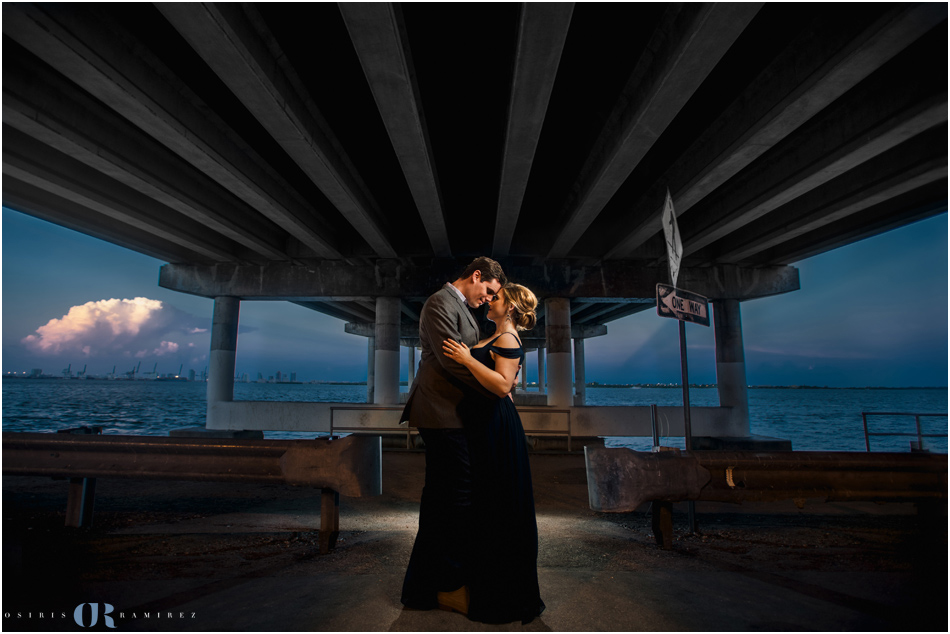 EPIC  Vizcaya Museum Engagement Photos, Calle Ocho and Ice Cream
