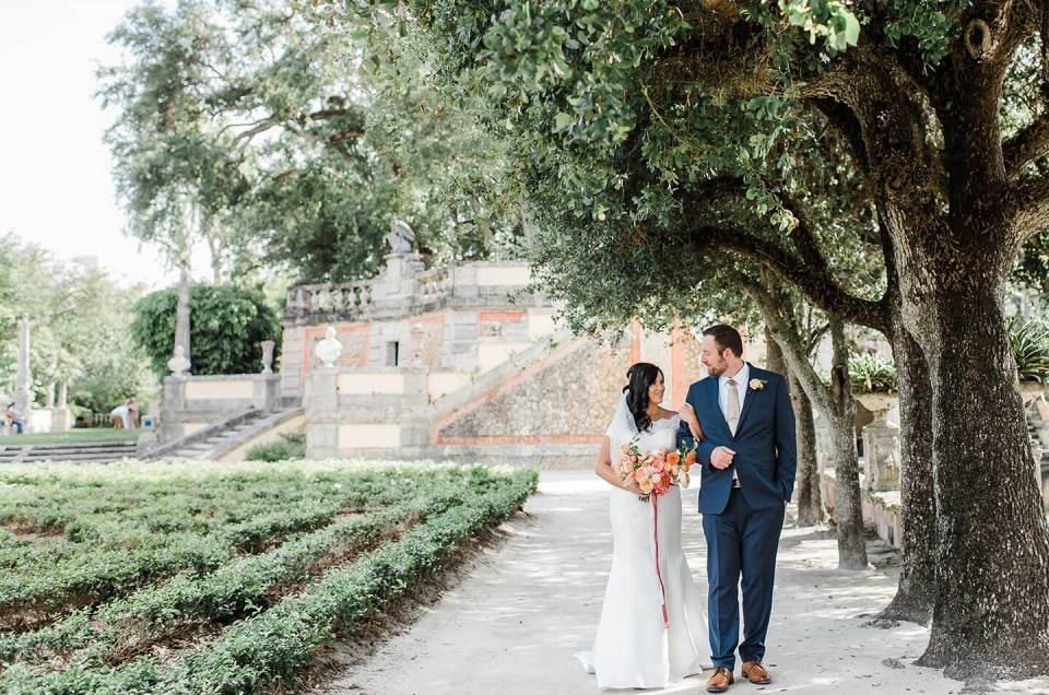 Vizcaya Gardens  – The Nautilus Hotel Miami Beach Destination Wedding Video