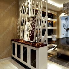 Modern Kitchen Art Aid Appliance 时尚塑料屏风隔断现代厨房餐厅多功能白色艺术塑料屏风玄关 现代厨房艺术