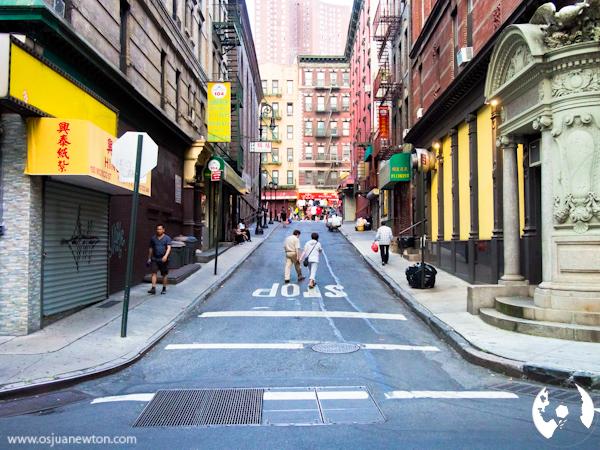 Chinatown, NYC August 2013