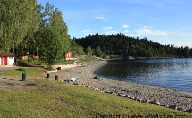 Hvervenbukta Badeplass Oslo