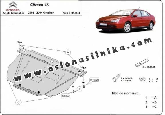 Osłona silnika Citroen