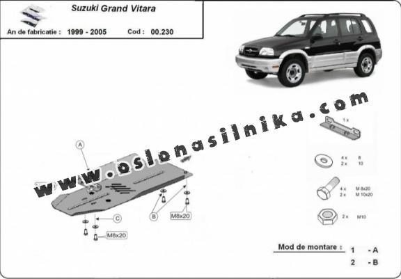 Osłona silnika Suzuki