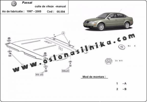 Osłona pod silnik VW Passat
