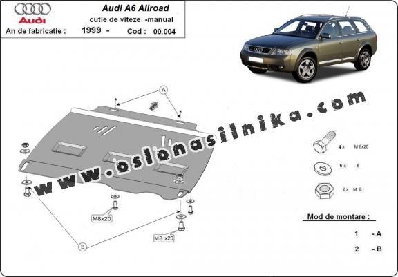 Osłona pod manualna skrzyni biegów Audi Allroad