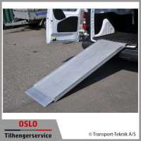 Van Ramp - oppkjøringsramper aluminium