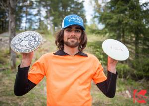 Alexander Williamson disc golf