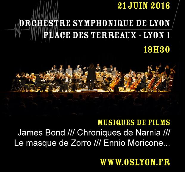 Orchestre Symphonique de Lyon à la Fête de la Musique 2016 - Place des Terreaux