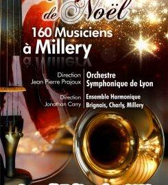Concert à Millery ! Symphonie de Noël, le 7 décembre 2013, 20h, à la salle polyvalente