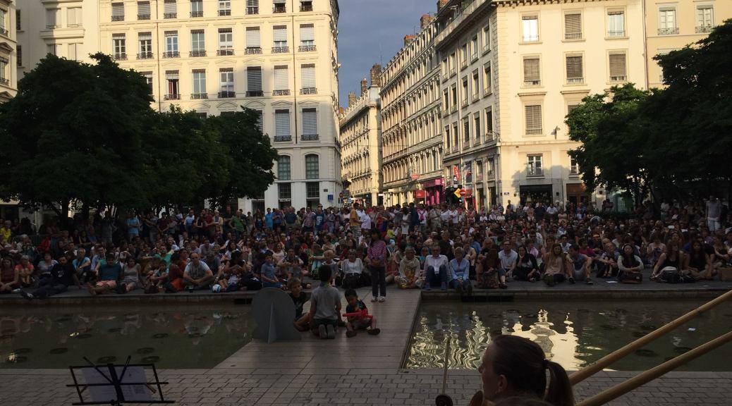 Orchestre Symphonique de Lyon Place des Célestins Fête de la Musique