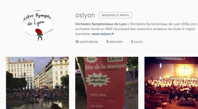 L'Orchestre Symphonique de Lyon est sur Instagram !