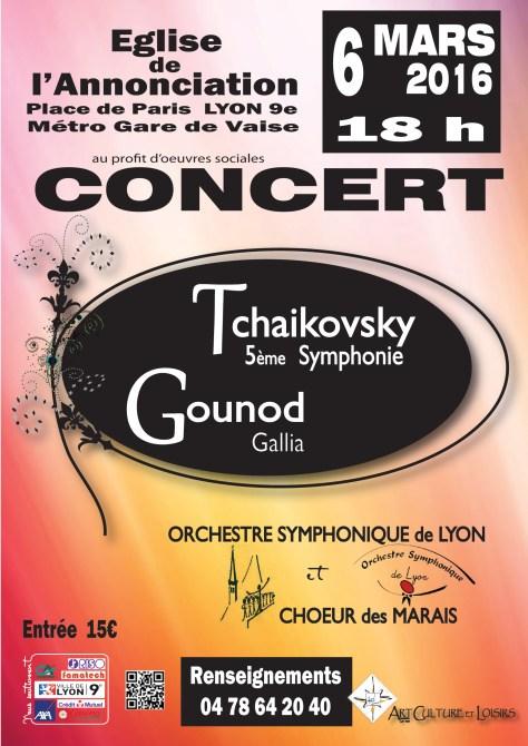 OSL Concert Galia Gounod 6 Mars 2016