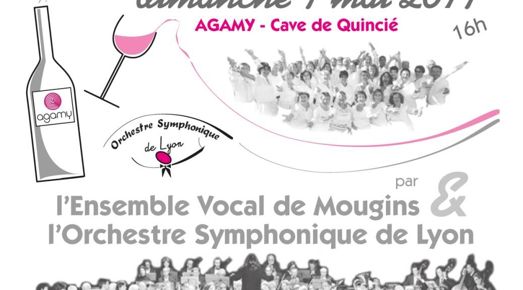 L'OSL en concert à la cave AGAMY de Quincié en Beaujolais