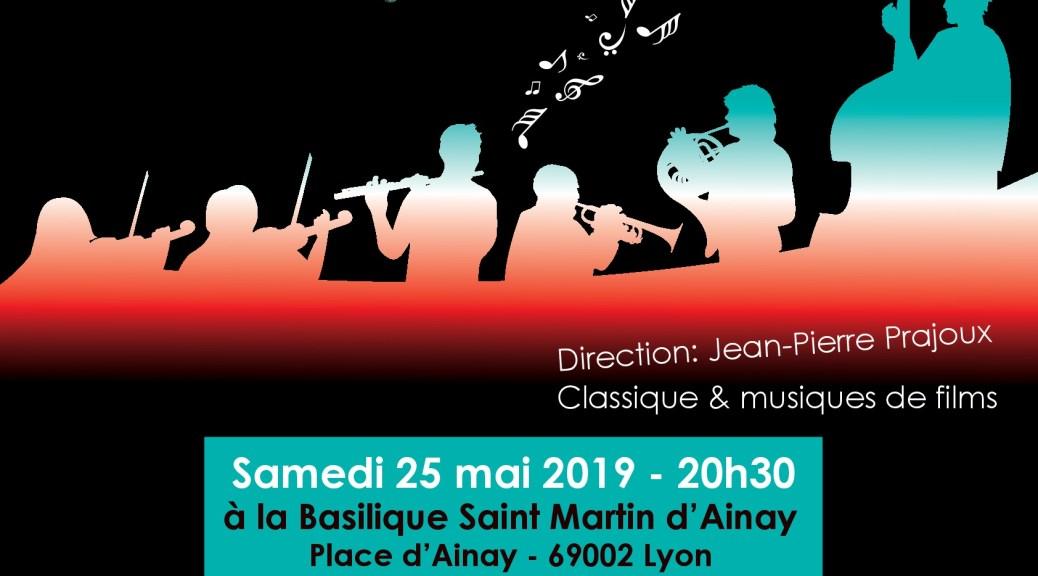 Concert Orchestre Symphonique de Lyon à Ainay le 25 mai 2019
