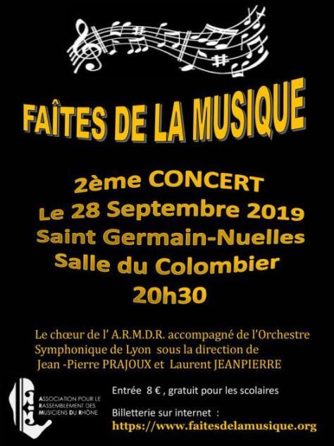 OSL Faites de la Musique - departement du Rhône - 28 septembre 2019