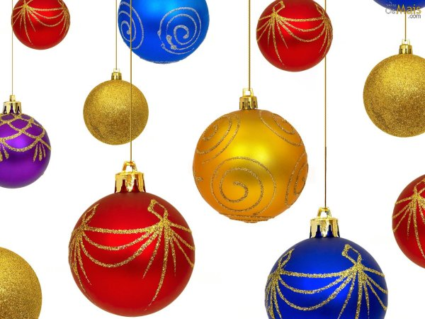 High Resolution Christmas Ornaments