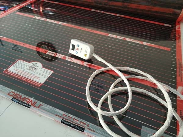 Termostatlı Rexva PTC 6 Metre Kare Halı Isıtma