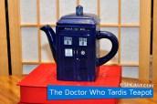 The Doctor Who Tardis Teapot