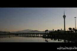 Pôr-do-sol em Macau