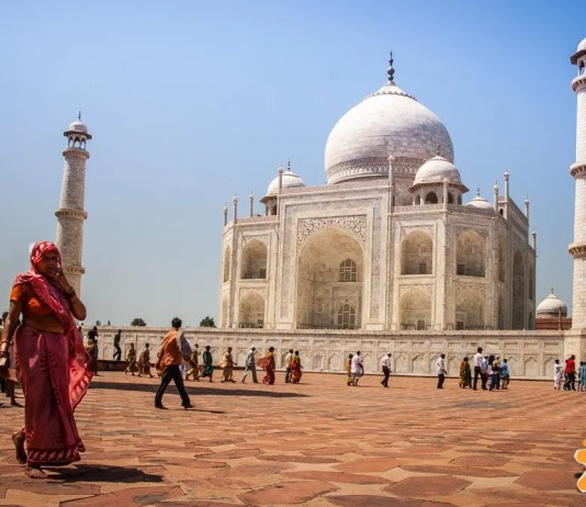 Taj Mahal another view