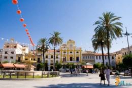 Mérida, Plaza de España