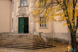 Liceu Camilo Castelo Branco, em Vila Real - Outono