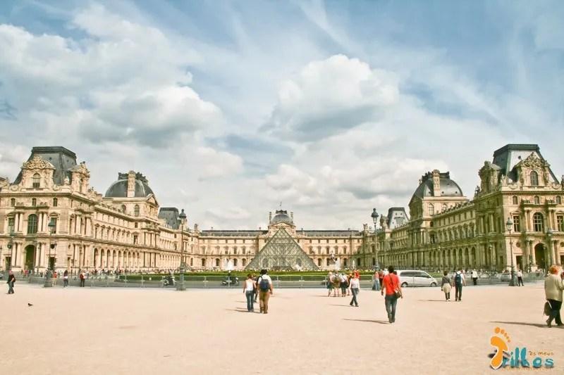 Museu do Louvre, em Parisparis