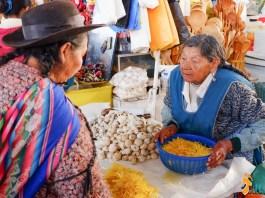Mercado de São Pedro, Cusco - Peru