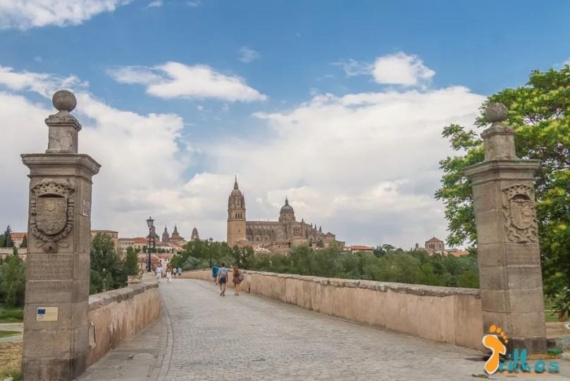 Ponte Romana e Catedral de Salamanca