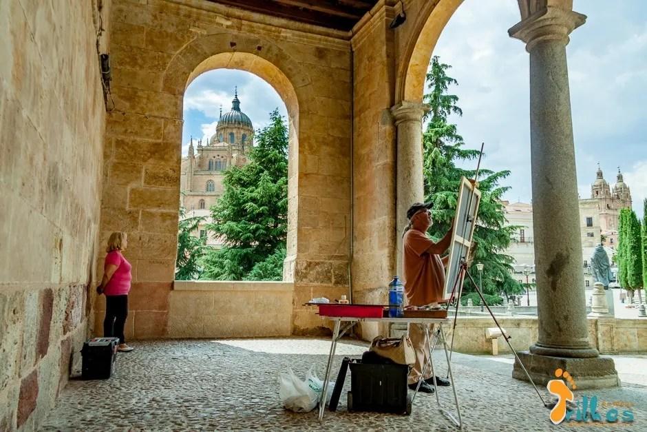 Vista Sobre a cidade de Salamanca desde o Convento de San Esteban-1