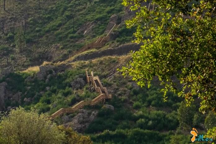 Passadiços do Orvalho, no Fundão