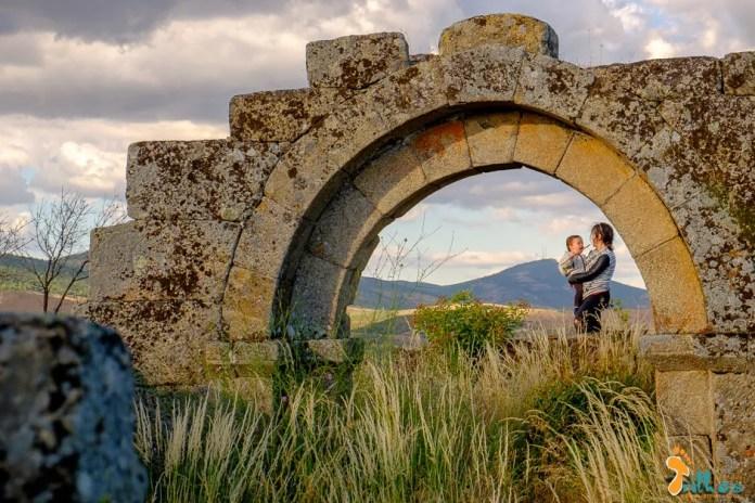 A Sandra e o Simão no Bogalhal Velho