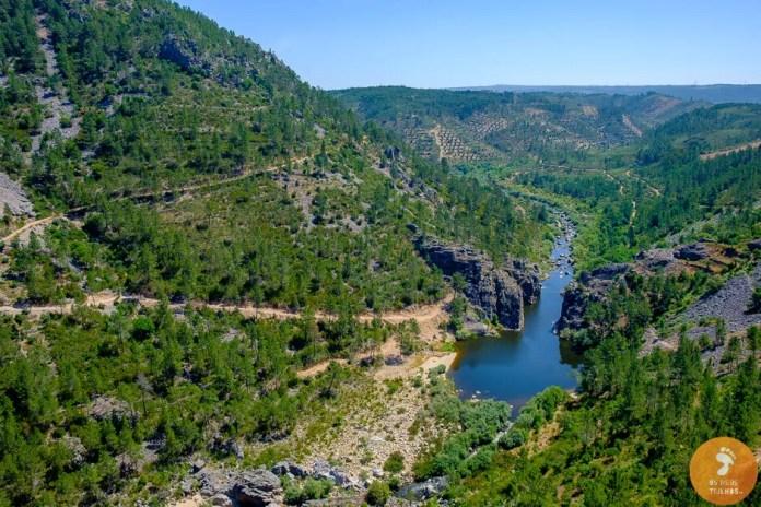 Portas do Almourão, no rio Ocreza, na Foz do Cobrão, Castelo Branco