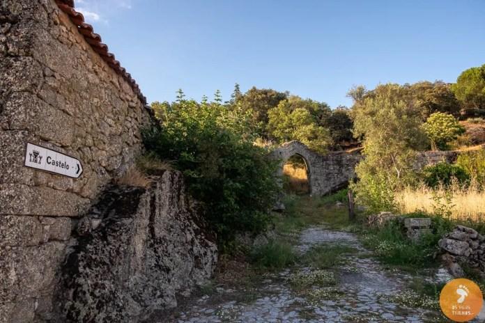 Porta do castelo da Vila do Touro - 5 vilas medievais no Sabugal