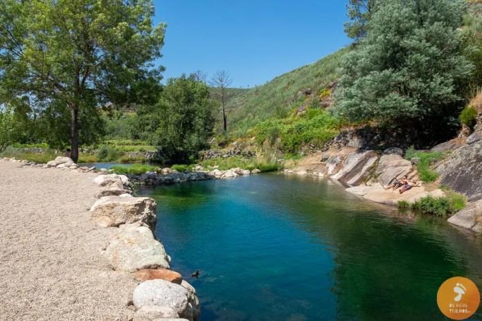 Praia Fluvial das Cortes do Meio - Poço da Monteira - Praias Fluviais na Serra da Estrela