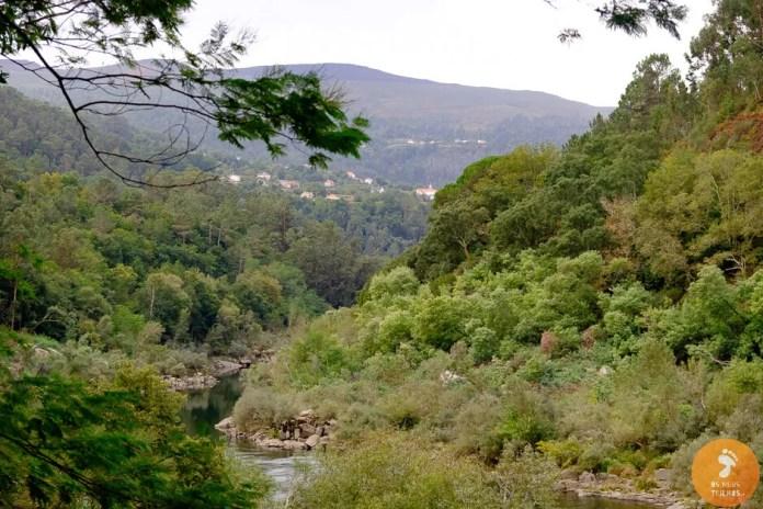 Rio Minho, em Cevide - Melaço