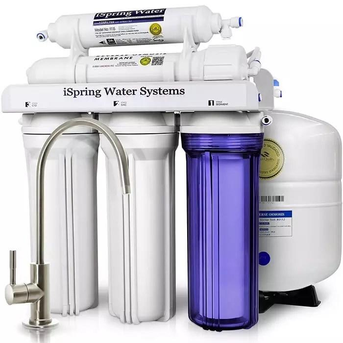 Ispring Rcc7 5 Stage Under Sink Reverse Osmosis Water