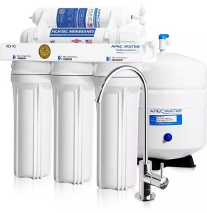 APEC Ultimate RO-90 Reverse Osmosis Drinking Water Filter System Review