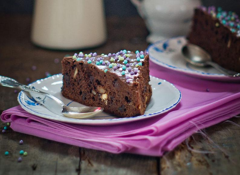 ciasto czekoladowe z orzechami przepis
