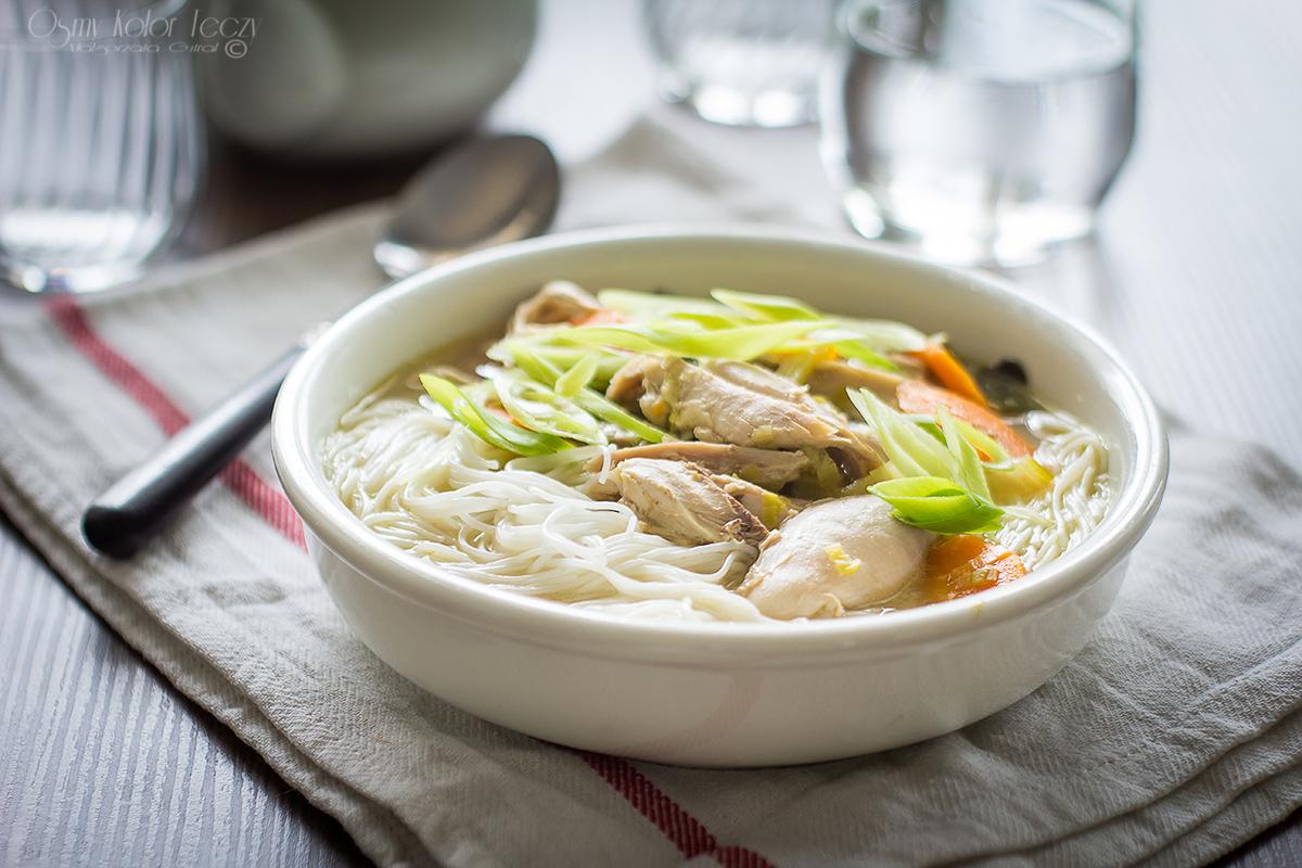 zupa kokosowa z kurczakiem