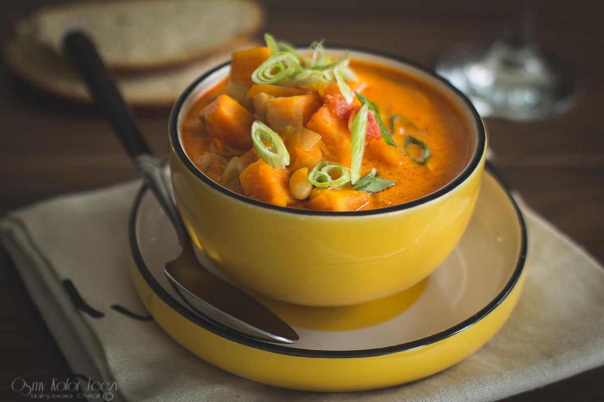 curry z batatow